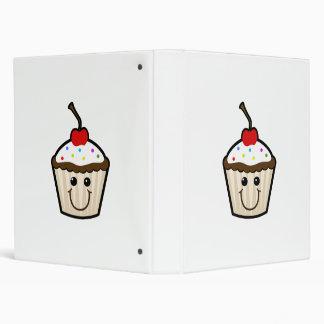 Cupcake Smile Face Binders