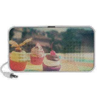 cupcake iPod speaker