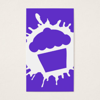 cupcake splatz business card