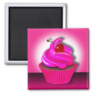 """Cupcake Spotlight"" by Cheryl Daniels Magnet"