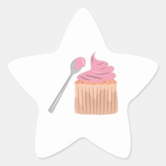 Cupcake Star Stickers