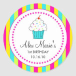 Cupcake Stickers / Favour Tags