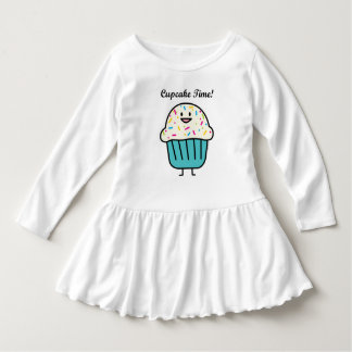 Cupcake Time with sprinkles sweet dessert fondant Dress