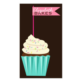 Cupcake Topper Business Card
