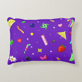 Cupcake Toppings Galore Accent Pillow