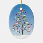 Cupcake Tree Holiday Ornament