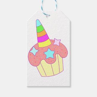 cupcake unicorn gift tags