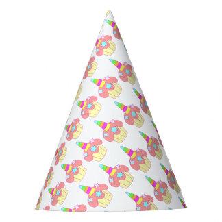 cupcake unicorn party hat