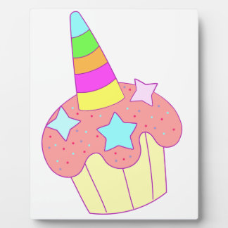 cupcake unicorn plaque