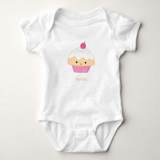 Cupcake, Vanilla Flavor Baby Bodysuit