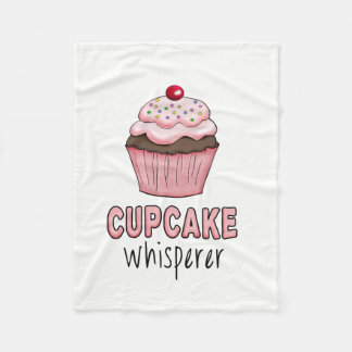 Cupcake Whisperer Fleece Blanket