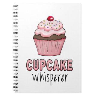 Cupcake Whisperer Spiral Note Books
