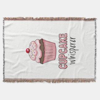 Cupcake Whisperer Throw