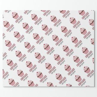 Cupcake Whisperer Wrapping Paper