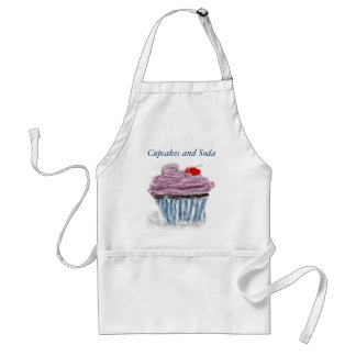 Cupcake with Cherry Standard Apron