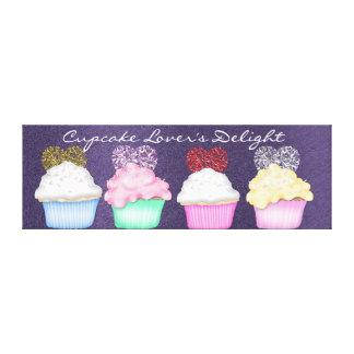Cupcake  WRAP CANVAS Canvas Print