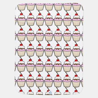 Cupcake Receiving Blankets