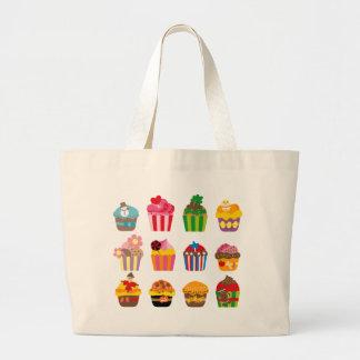 cupcakeALL Large Tote Bag