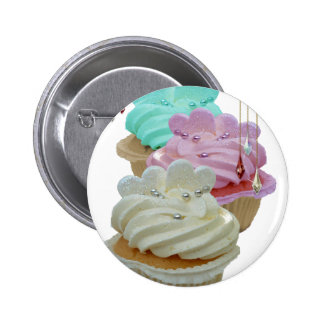 Cupcakes and beads pins