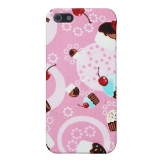 CUPCAKES AND CHERRIES COVER FOR iPhone 5