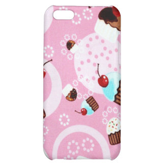 CUPCAKES AND CHERRIES iPhone 5C COVER