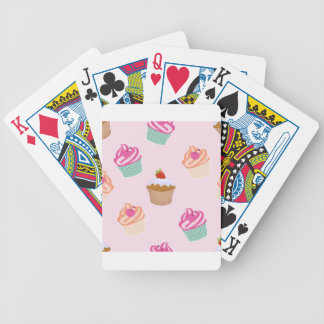 Cupcakes And Muffins Bicycle Playing Cards