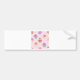 Cupcakes And Muffins Bumper Sticker