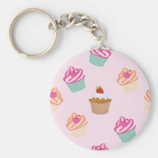 Cupcakes And Muffins Keychain