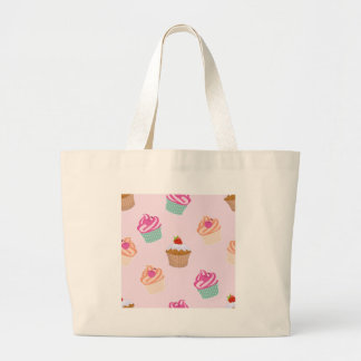 Cupcakes And Muffins Large Tote Bag