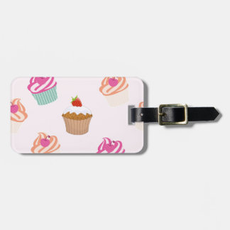 Cupcakes And Muffins Luggage Tag