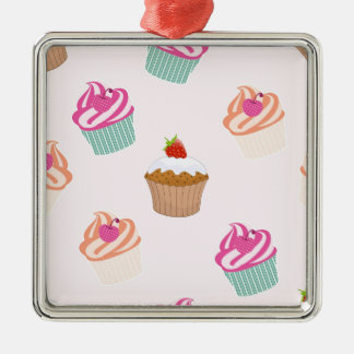 Cupcakes And Muffins Metal Ornament