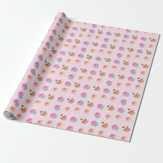 Cupcakes And Muffins Wrapping Paper