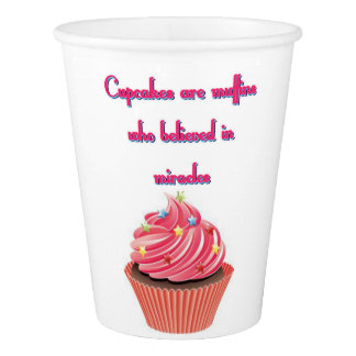 Cupcakes Are Paper Cup, 9 oz Paper Cup