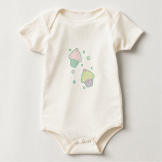 Cupcakes Baby Baby Bodysuit