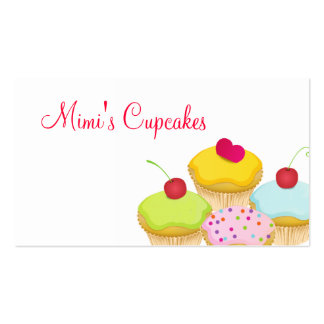 Cupcakes Business Card Template