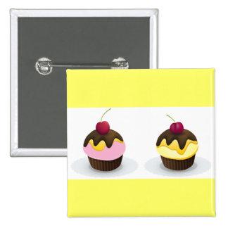 cupcakes pinback buttons