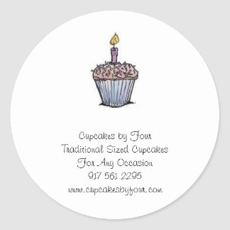 Cupcakes by Four Sticker - Customized