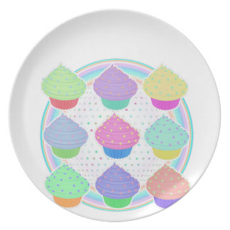 Cupcakes Dinner Plate