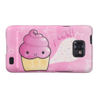 Cupcakes Fart Sprinkles Samsung Galaxy S Cases