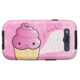 Cupcakes Fart Sprinkles Samsung Galaxy S3 Case