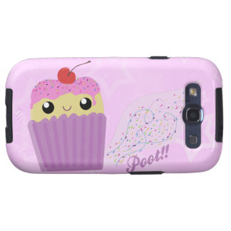 Cupcakes Fart Sprinkles Samsung Galaxy SIII Case