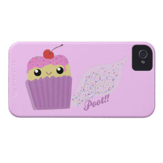 Cupcakes Fart Sprinkles iPhone 4 Case-Mate Cases
