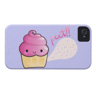 Cupcakes Fart Sprinkles iPhone 4 Cases