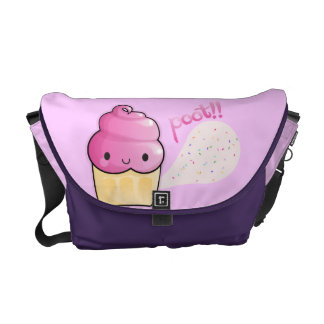 Cupcakes Fart Sprinkles Messenger Bags