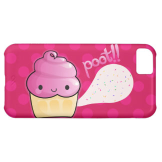 Cupcakes Fart Sprinkles Pink Case For iPhone 5C