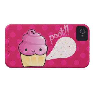 Cupcakes Fart Sprinkles Pink Case-Mate iPhone 4 Case