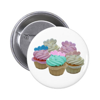 Cupcakes Galore! 2 Inch Round Button
