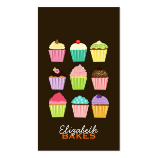 Cupcakes Galore Business Card