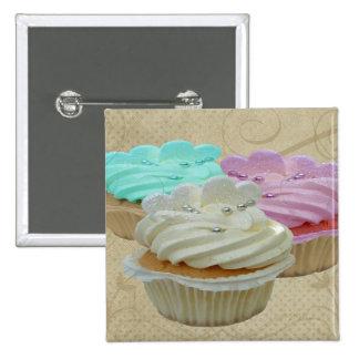 Cupcakes Grunge Pins