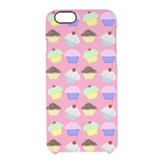 Cupcakes iPhone Clearly™ Deflector Case